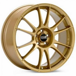 Диск 7.5x18 5x100 ET48 D68 OZ Ultraleggera Race Gold