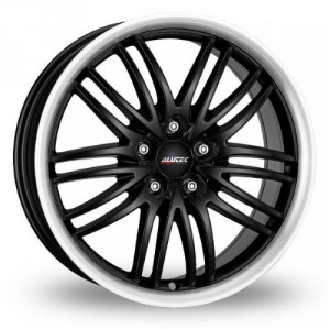 Диск 8.5x18 5x108 ET40 D70.1 Alutec BlackSun Racing Black Lip Polished