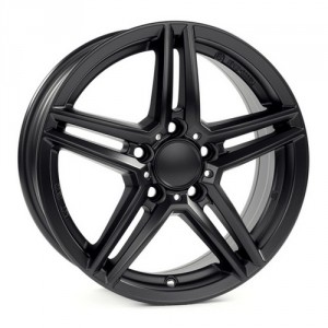 Диск 8.5x18 5x112 ET34.5 D66.5 Alutec M10 Racing Black