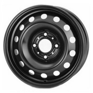 14x5.5   4x100   ET35   d57.1   454209 VW Inca / Caddy   black   R-Steel