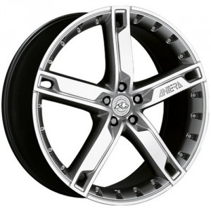 Диск колесный Antera 503 9x20/5x120 D74.1 ET42 Silver Front Polished