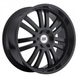 Диск колесный Black Rhino Robberg 9x20/5x150 D110.1 ET25 Matt Black