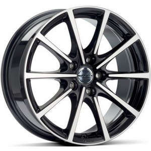 Диск 7x16 5x114.3 ET40 D72.5 Borbet BL5 Black polished