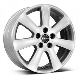 Диск колесный Borbet CA 7x16/5x115 D70.1 ET42 Cristal silver