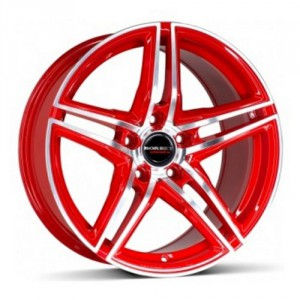 Диск 8x18 5x114.3 ET45 D72.5 Borbet XRT Red Front Polished