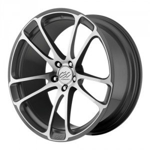 Диск 8.5x20 5x120 ET32 D75 CEC C 882 Anthracite/Machined