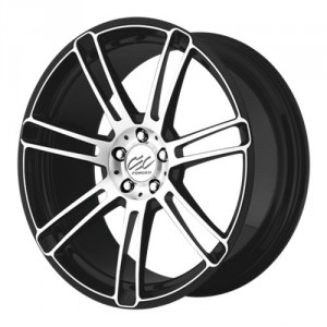 Диск колесный CEC C 883 10x22/5x120 D72.6 ET40 Black/Machined