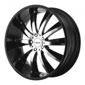 Диск 10x20 5x120 ET40 D74 Helo HE851 Black/Machined