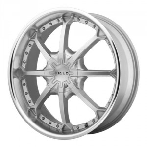 Диск 9x22 6x135 ET15 D106 Helo HE871 Silver/Machined