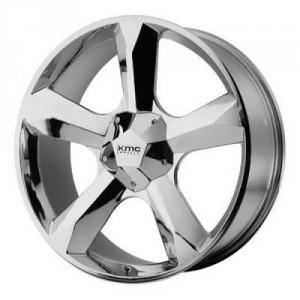 Диск колесный KMC KM674 9.5x22/5x130 D84.1 ET30 Chrome
