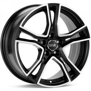 Диск колесный OZ Adrenalina 8x17/5x112 D75 ET48 Matt Black + Diamond Cut