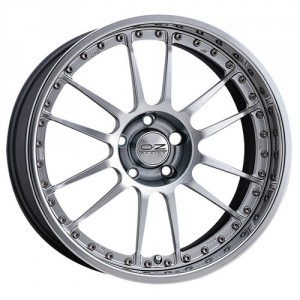 Диск 8.5x19 5x112 ET32 D79 OZ Superleggera III Forget Race Silver
