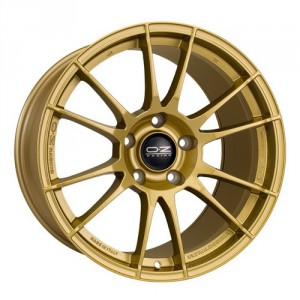Диск 8x18 5x100 ET51 D68 OZ Superleggera Race Gold