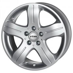 Диск колесный Rial DF 7.5x16/5x112 D66.6 ET35 Polar Silver