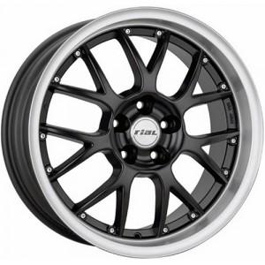 Диск колесный Rial Nogaro 8x17/5x112 D70.1 ET40 Racing Black Lip Polished