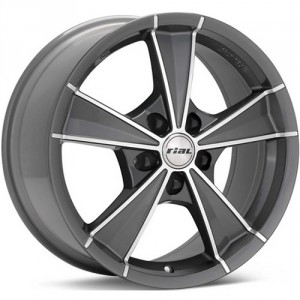Диск колесный Rial Roma 7.5x16/5x108 D70.1 ET48 Graphite front polished