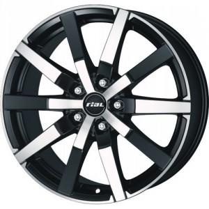 Диск колесный Rial Trenta 7.5x17/5x120 D76.1 ET36 Racing black front polished
