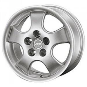 Диск колесный Rial Viper E 6.5x15/5x100 D63.3 ET38 Silver Lip Polished