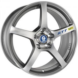 Диск колесный Sparco RTT524 7x16/5x114.3 D73.1 ET45 Matt Silver Tech Diamond Cut