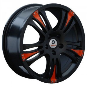 Диск 7.5x17 5x108 ET49 D73.1 Vianor VR8 BKS OR