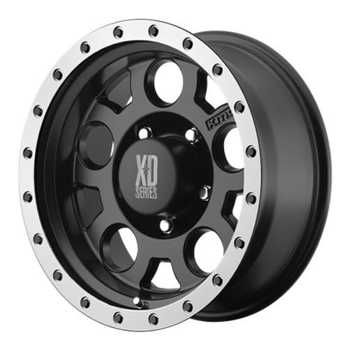Диск колесный XD Series XD125 9x18/5x127 D83 ET0 Black/Machined