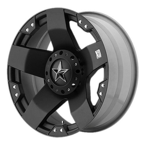 Диск 8.5x20 5x127 ET10 D83 XD Series XD775 Black