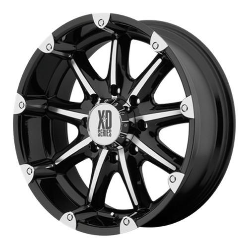 Диск колесный XD Series XD779 9x20/6x139.7 D106.3 ET18 Black/Machined
